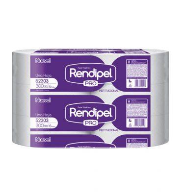 Higiene Personal 52303 rendipel higienico 6 x 300 x mts 375x400