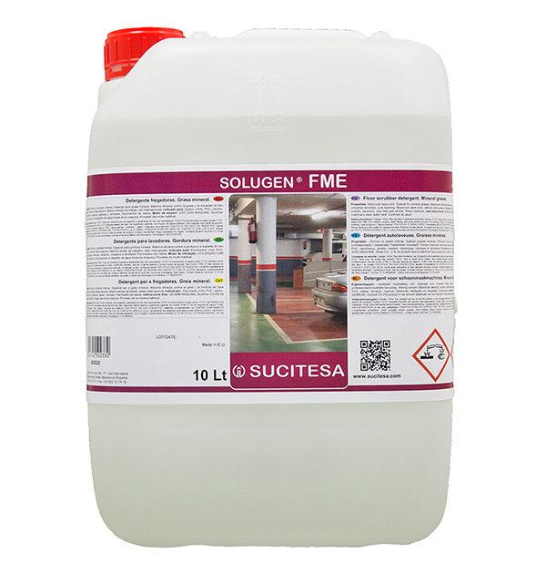 SUCITESA Aquagen UNIX Detergente Fregadoras A