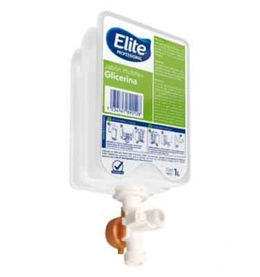 Higiene Personal 98133 elite jabon multiflex glicerina 6x1lt 375x400