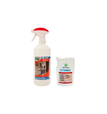 Higiene Superficies Ecomix Active Foamer Monodosis Pack 375x400