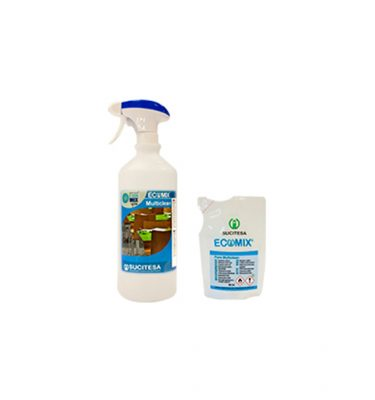 Hygiene Ecomix Multiclean Spray Monodosis Pack 375x400
