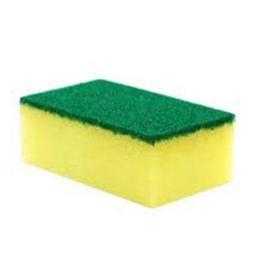Accesorios Higiene Esponja con abrasivo 1 375x400