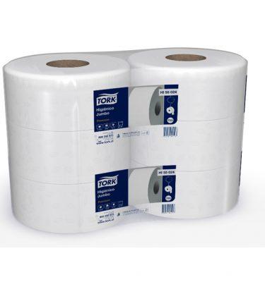 Higiene Personal HI55024 tork higienico jumbo dh 6x250 mts 375x400