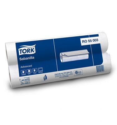 Higiene Personal RO55003 tork advanced sabanilla rollo hs 12x48 mts 375x400