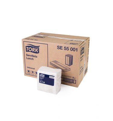 Higiene Alimentaria SE55001 tork universal servilleta lunch hs 20x500 uni 375x400
