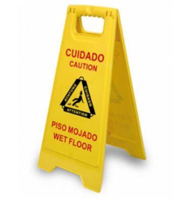Accesorios Higiene Sen  al advertencia de piso resbaladizo 375x400