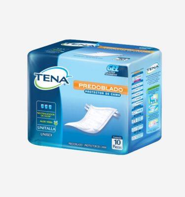 Higiene Personal TENA Predoblado Protector de Cama 375x400