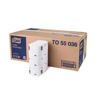Higiene Personal TO55036 tork toalla interfoliada hs 16x250 uni 375x400