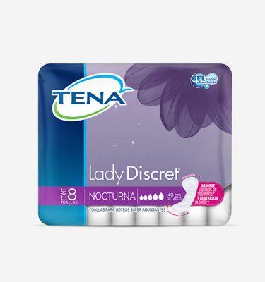 Higiene Personal Tena lady discret nocturna 375x400