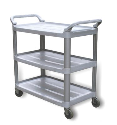 Accesorios Higiene carro de servicio 3 bandejas 375x400