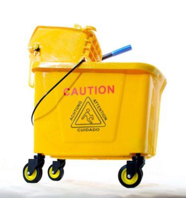 Accesorios Higiene estrujador amarillo 20 lts 375x400