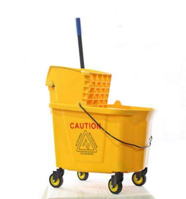 Accesorios Higiene estrujador amarillo 36 lts 375x400