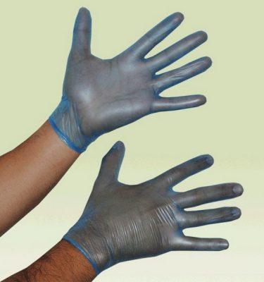 Higiene Personal guante vinilo azules sn polvo 375x400