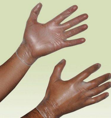Higiene Personal guante vinilo blanco 375x400