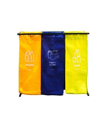 Accesorios Higiene punto limpio tela 216 lts 375x400