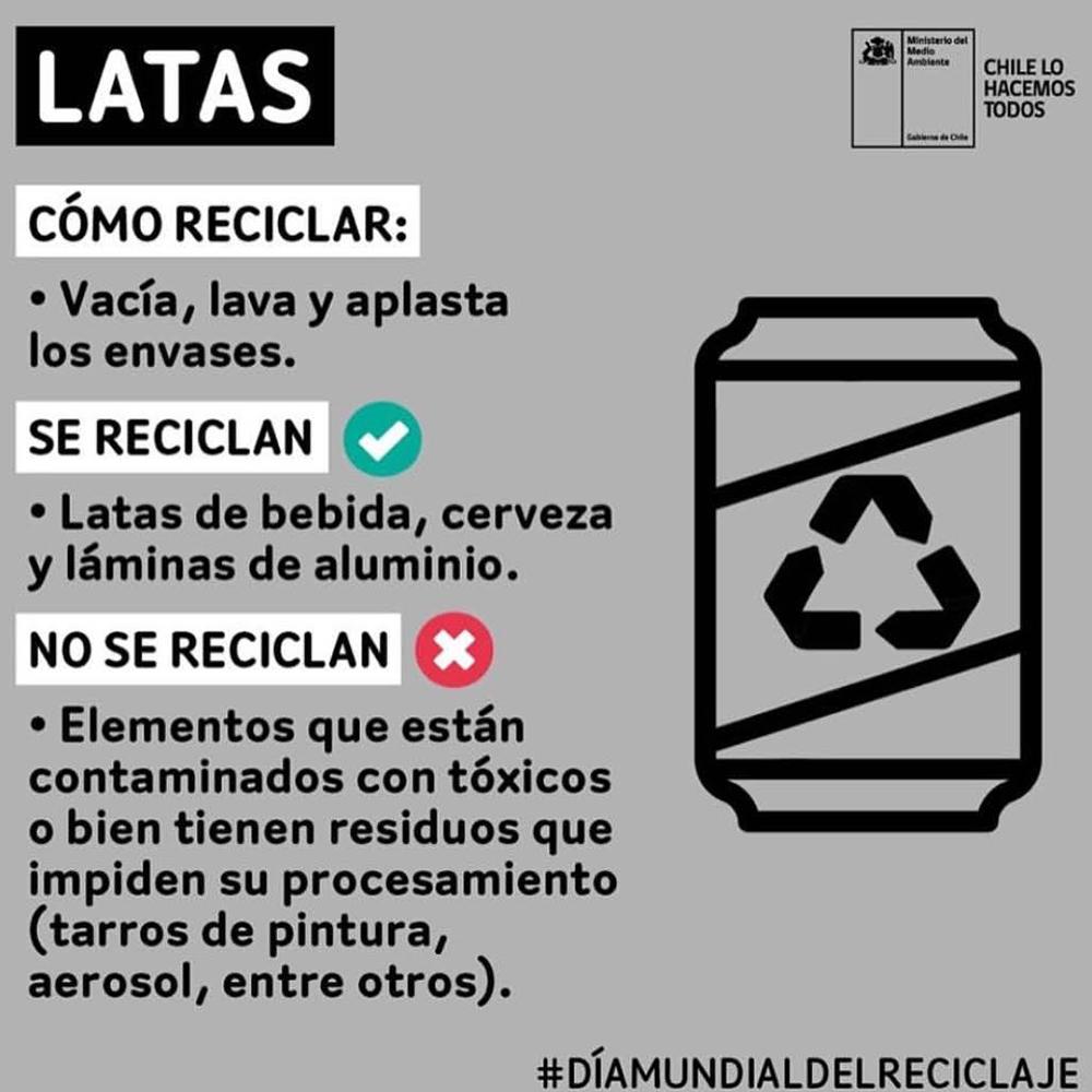 Puntos Limpios Reciclaje reciclaje latas