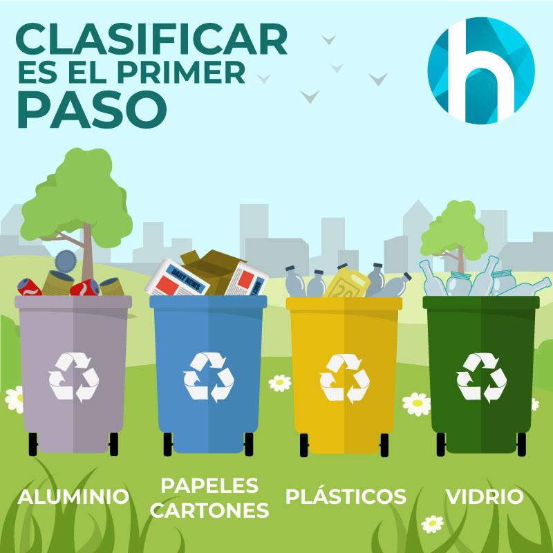 Hygiene reciclaje montaje