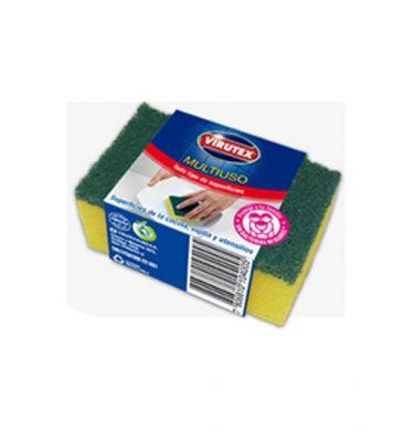 Accesorios Higiene virutex esponja lisa 375x400